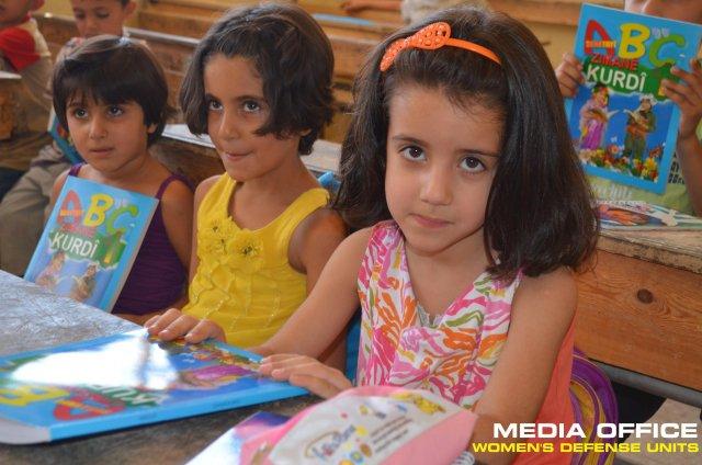 Help for children in ROJAVA