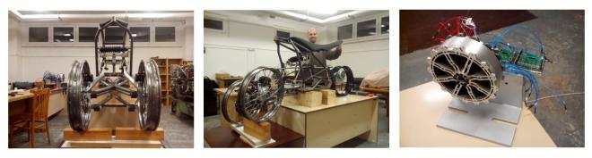 TiltingVehicle - 3kolový nakláněcí e-motocykl