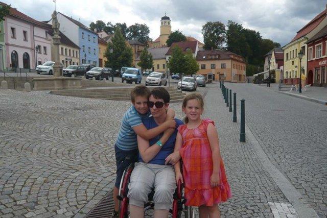 Elektrický vozík pro Janinu